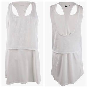 NEW Nike Sport Mesh Swim Cover-Up White Small